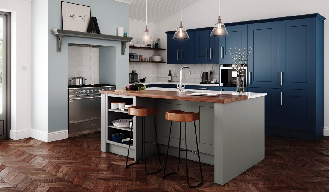 CLONMEL - Stone & Parisian Blue