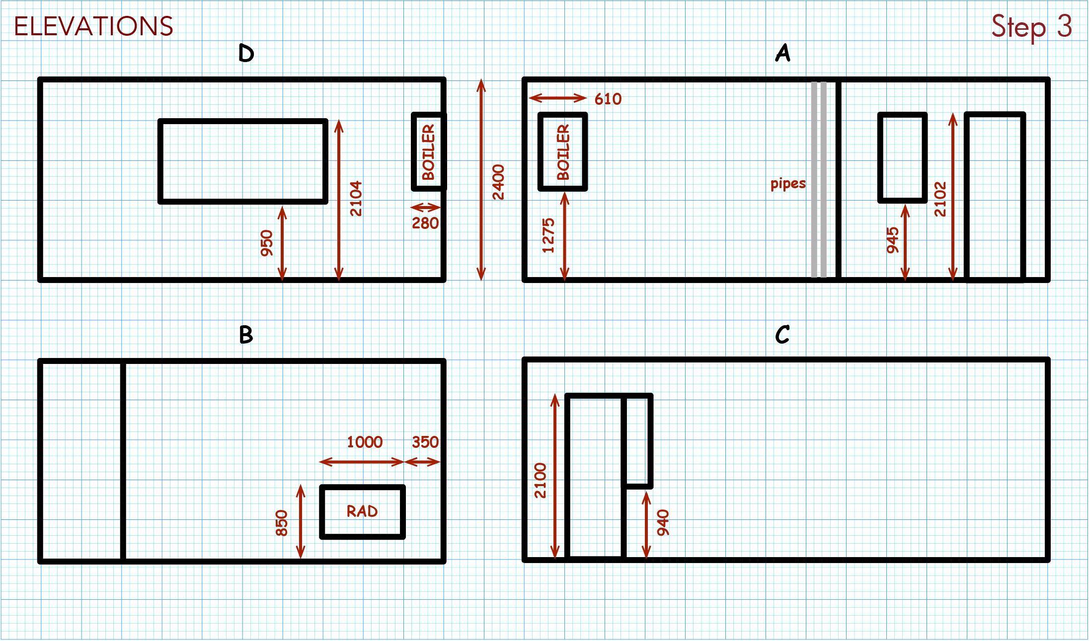 Add elevation measurements