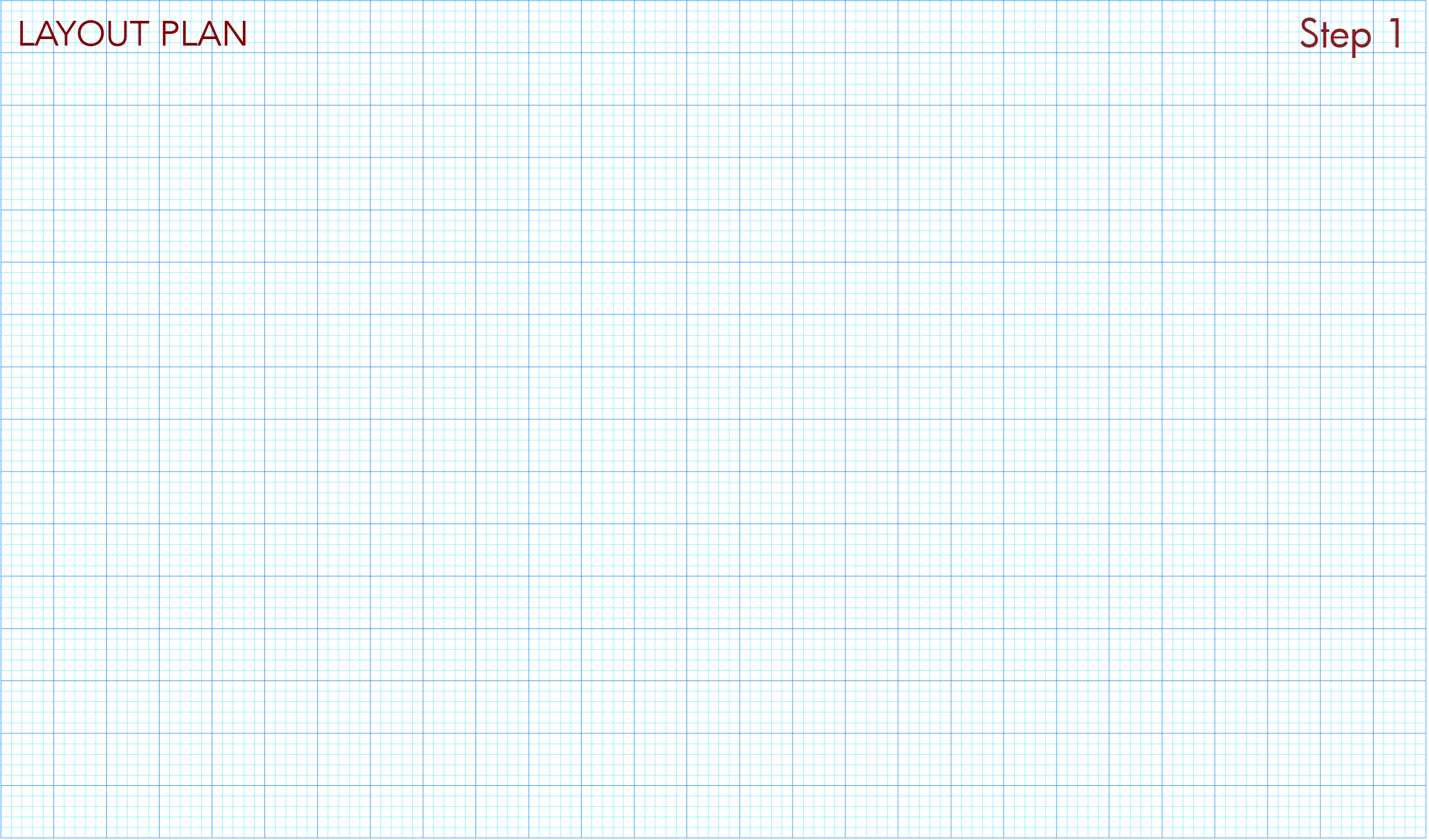 Download and print layout plan graph paper