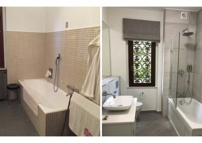 Before and After - Casa Paradiso